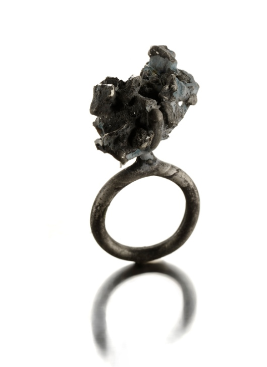 Catalina Brenes - MORFOSI SERIES RING, 2011. Silver. Photo courtesy of the artist