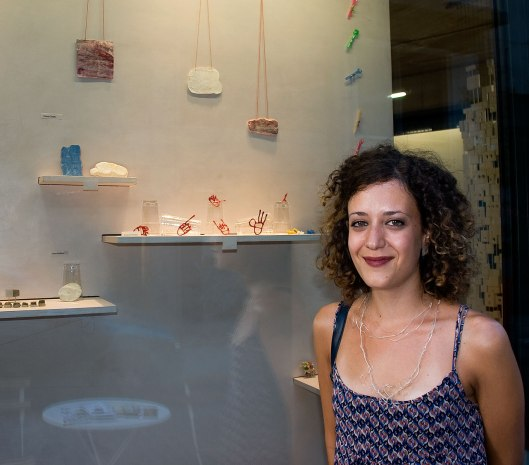 Chiara Cavallo at Eleni Marneri Gallery. Photo by Eleni Roumpou