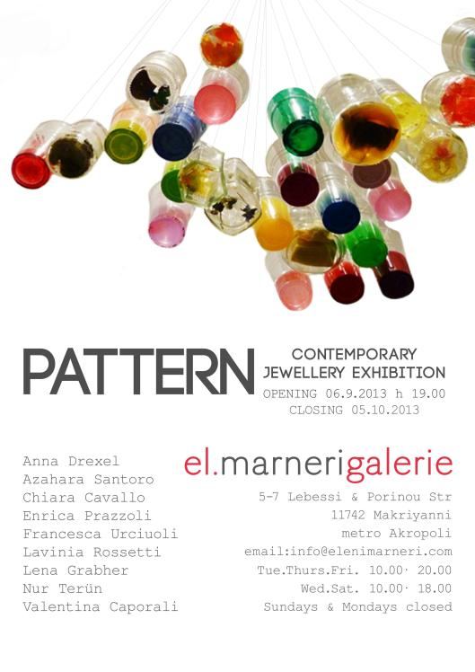 PATTERN Exhibition at Marneri Gallery