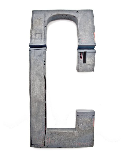 "Demitra Thomloudis - ""24.427"" (2013). Necklace. Cement, resin, steel, wood, nickel silver, sterling silver, pigment. Picture courtesy of the artist."